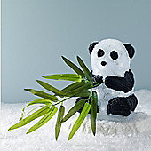 Light Up Panda Figure with White LEDs