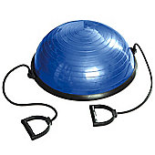 Tunturi Balance Exercise Ball Trainer with Resistance Bands