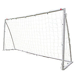 Woodworm 8' X 4' Portable Junior Plastic Football Goal Inc. Net