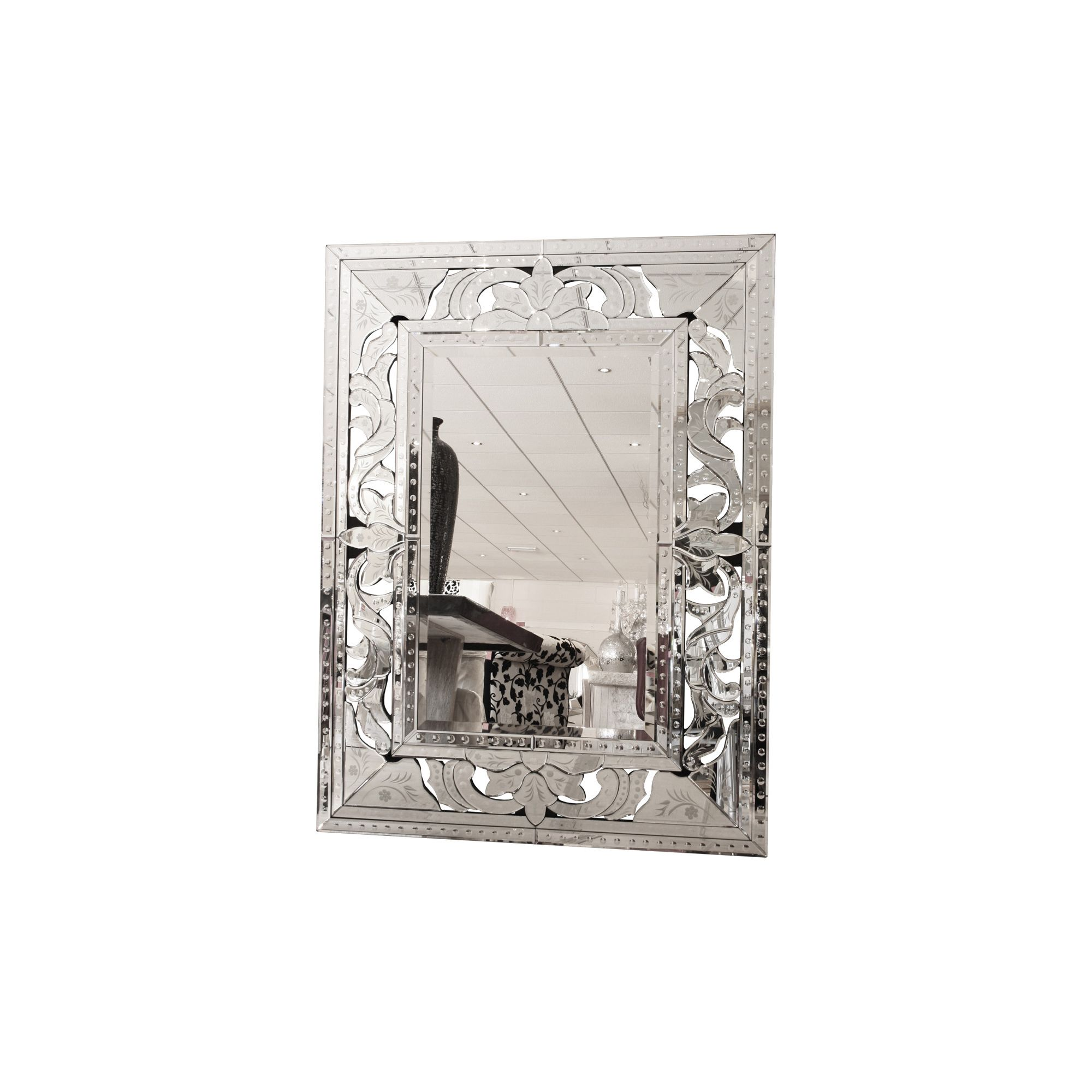 Home Essence Modal Bold Venetian Wall Mirror at Tesco Direct