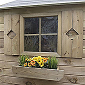 Timberdale Playhouse Window Box