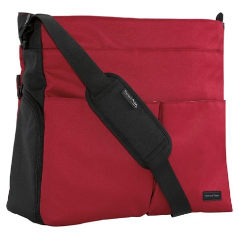 Mamas & Papas Changing Bag, Red