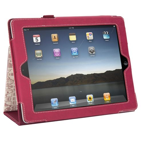 Griffin Elan Folio Threadless Case for Apple iPad 3/iPad 2 - Red