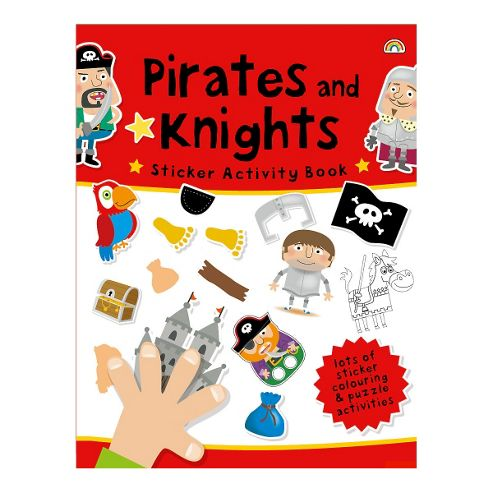 ELC Pirates and Knights Sticker Activity Book