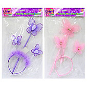 Its Girl Stuff Butterfly Wand And Head Boppers