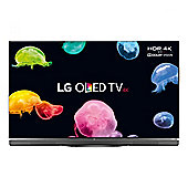 """LG OLED55E6V 55"""" Smart WiFi Built In Ultra HD 4K OLED With Freeview HD Black"""