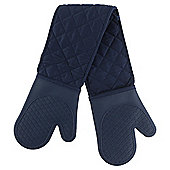 Navy Silicone Double Oven Glove