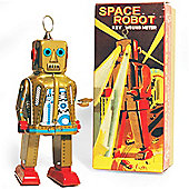 Retro Tin Collectable Ornament - Gold