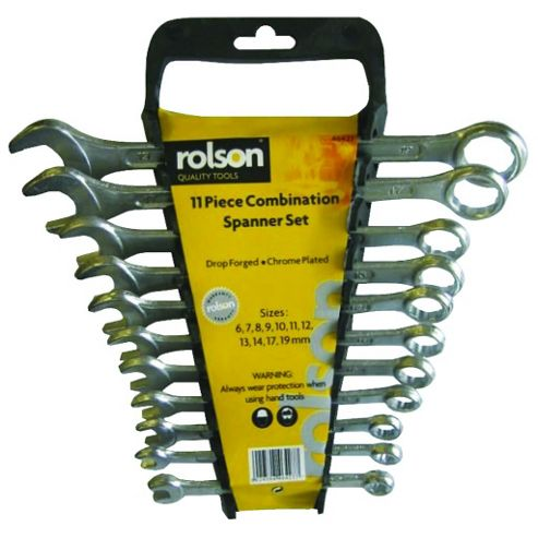 11-Piece Combination Spanner Set (Metric)