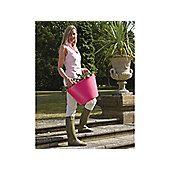 Faulks Sp14Pk Tub Trug Pink Small