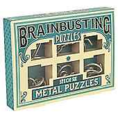 Metal Puzzle Set Of 6