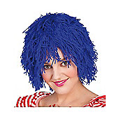 Blue Rag Doll Wig