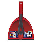 Vileda 2-in-1 Dustpan Set