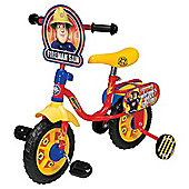 "Fireman Sam 10"" Kids' Bike with Stabilisers"