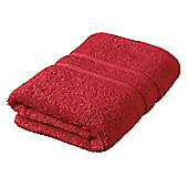 Tesco Face Cloth Red