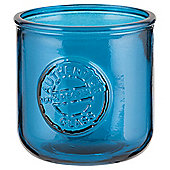 Recycled Tealight Holder Teal