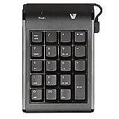 V7 KP0N1 Numeric USB Keypad (Black) CBID:1673482