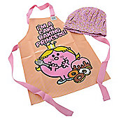 Little Miss pvc Apron & Chefs Hat
