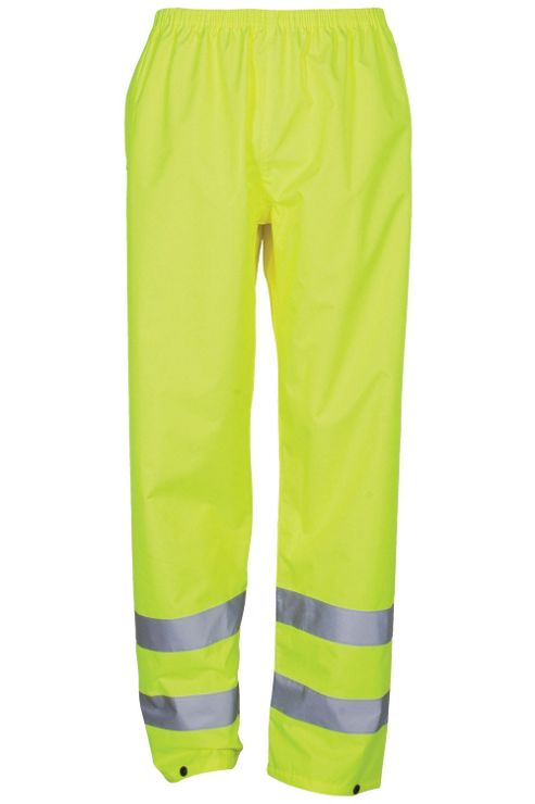 Aspect Mens High Visibility Motorbike Waterproof Overtrousers Trousers