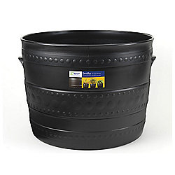 Stewart 2559036 Smithy Patio Tub Black 50cm