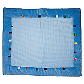 Snoozebaby Play Mat - Dolphin Blue