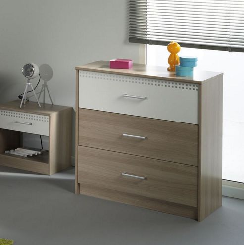 Parisot Giga 3 Drawer Chest
