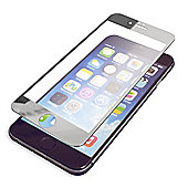 "Tortoiseâ""¢ Silver Edge Tempered Glass Screen Protector, iPhone 6. Clear."