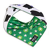Skibz Doublez (Cowprint/Starbright) - The double sided bandana style dribble bib