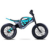 Caretero Enduro Wooden Balance Bike (Black/Blue)