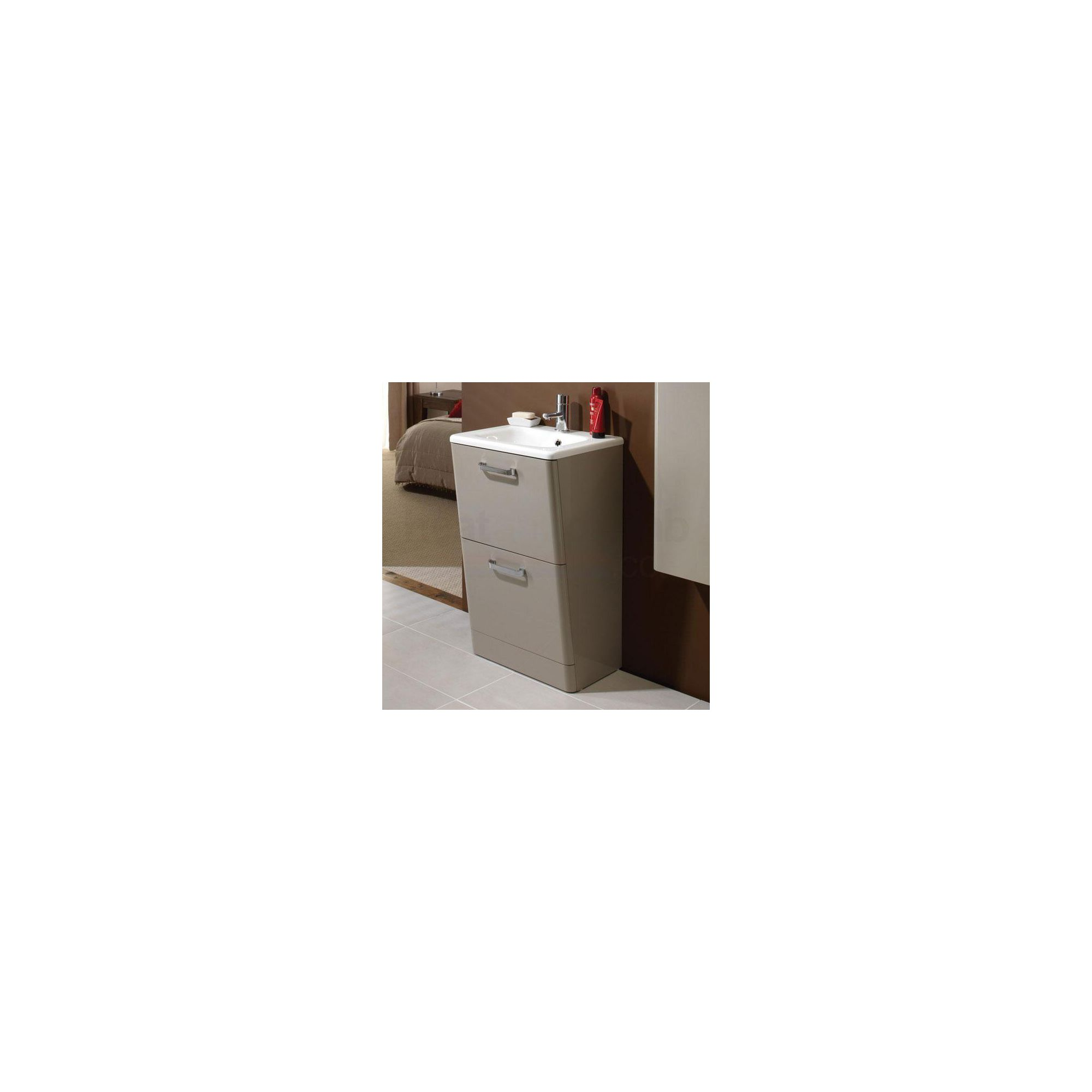 HiB Palamas Floor Standing Unit Calico 845mm High x 500mm Wide x 425mm Deep (BASIN NOT INCLUDED)