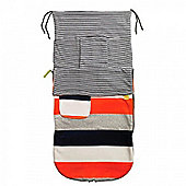 Buggy Snuggle Beachbug Summer Buggysnuggles (Zingy Stripe Velour)