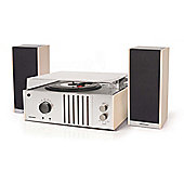 Crosley Player II Turntable, Silver