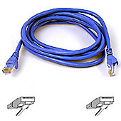 Belkin 5 m CAT6 RJ45M-RJ45M Snagless Patch Cable - Blue