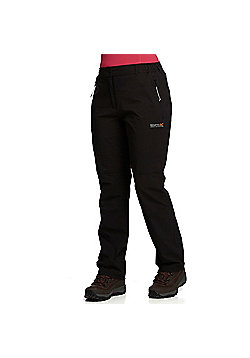 Regatta Ladies Fellwalk Stretch Trousers - Black