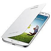 Samsung Original Flip Case for Samsung Galaxy S4 - White