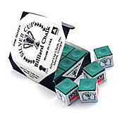 Silver Cup Billiard Chalk (12 Pieces) - Chalk Colour : Green