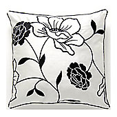 Catherine Lansfield Designer Chloe Cushion Cover - Black