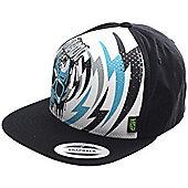 NEW Madd Gear MGP Lightning Bolt Trucker Cap Hat - Black - One Size