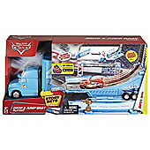 Disney Cars Drop and Jump Gray Transporter