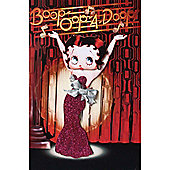 BB Designs Betty Boop Fridge Magnet Brand New Cabaret in Red Dress