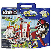 Kre-O Cityville Invasion Fire Station Dragon Attack A3248