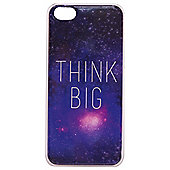 "Tortoiseâ""¢ Hard Protective Case, iPhone 5C, Think Big motto on Space design, Multi."