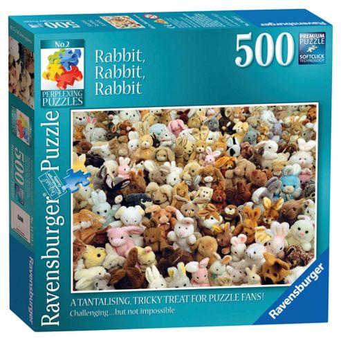 Ravensburger Perplexing Rabbit, Rabbit, Rabbit, 500 Piece Puzzle