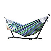 Vivere Double Hammock with Stand - Oasis