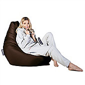 Big Bertha Original™ Indoor / Outdoor Highback Bean Bag - Brown