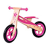 Bigjigs Toys BJ775 My First Balance Bike (Pink)