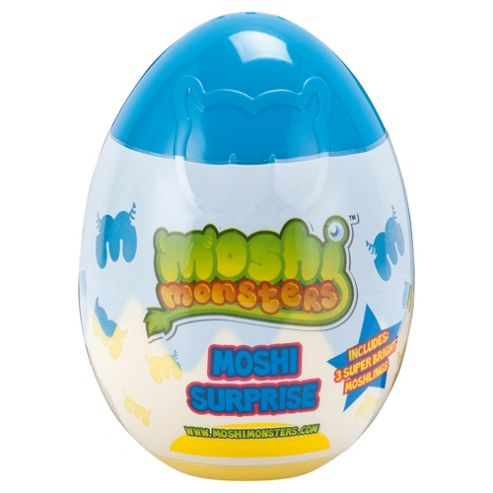 Moshi Monsters Egg Surprise- Assortment – Colours & Styles May Vary