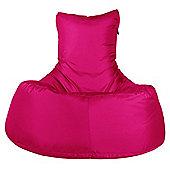 Big Bertha Original™ Indoor / Outdoor Tallback Chair Bean Bag - Cerise