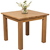 Oslo Solid Oak Square 90 cm Dining Table