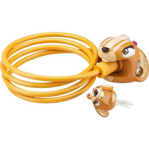 Crazy Stuff Cable Lock: Chipmunk